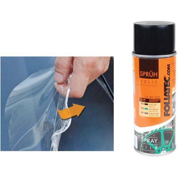Film de protection spray pour jantes transparent 400 ml foliatec feu vert - Enlever film plastique de protection ...