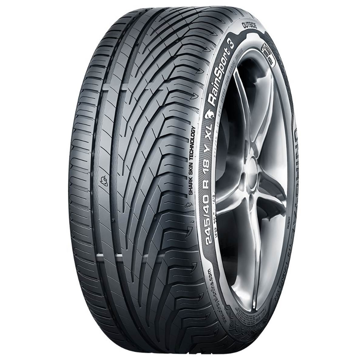 Pneu UNIROYAL 205/50R16 87Y RainSport 3