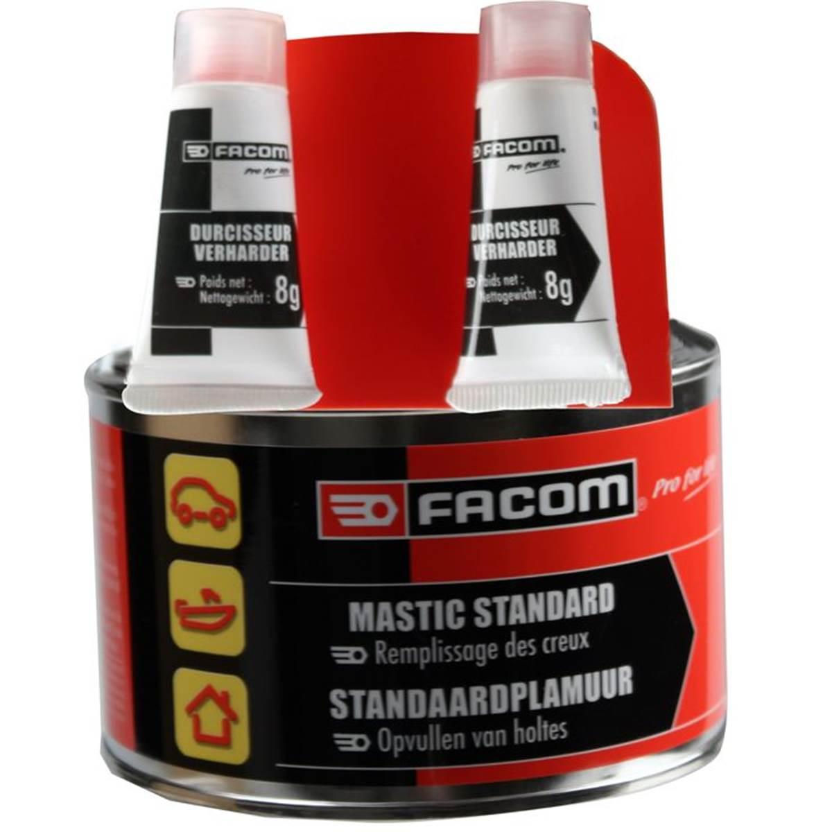 Mastic polyester standard Facom 500 g