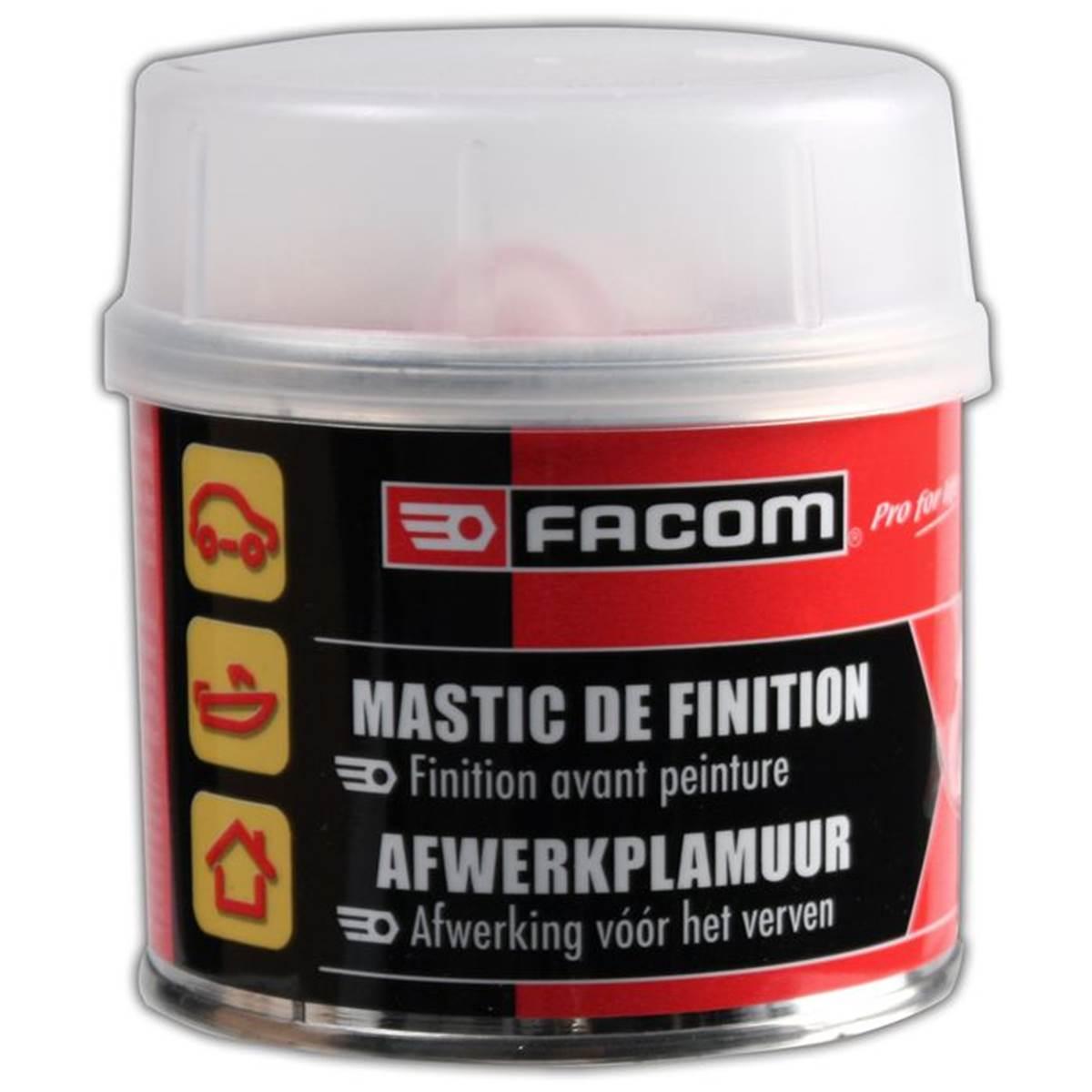 Mastic polyester de finition Facom 250 g