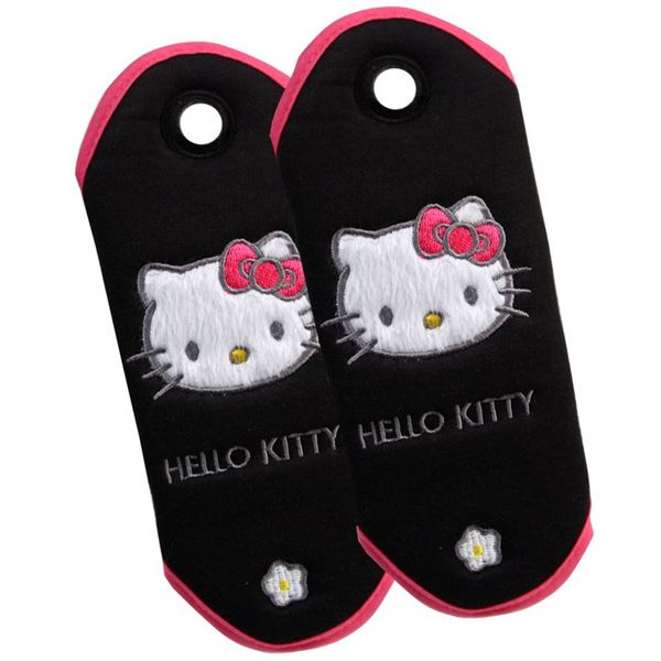 2 Fourreaux de ceinture Hello Kitty