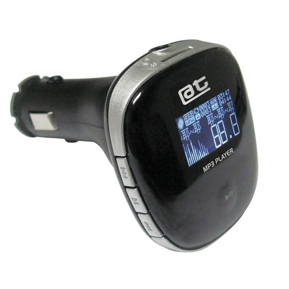 Transmetteur FM lecteur MP3 et chargeur USB 12/24V Auto-T