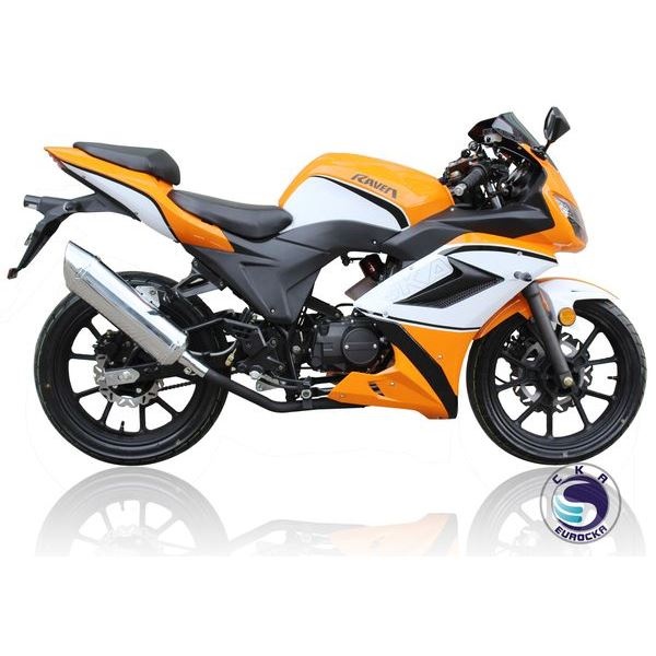 Moto 50 cc Eurocka Motrac Orange