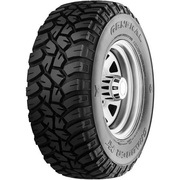 Pneu 4X4 General Tire 265/75R16 123Q Grabber Mt
