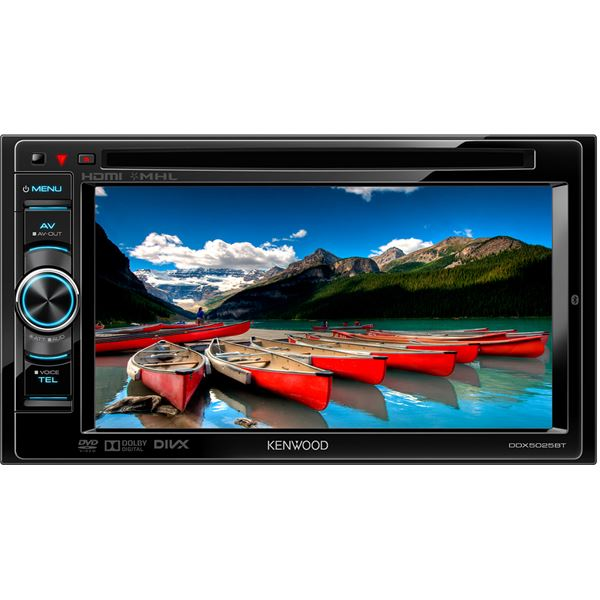 Autoradio multimédia double-DIN Kenwood DDX5025BT