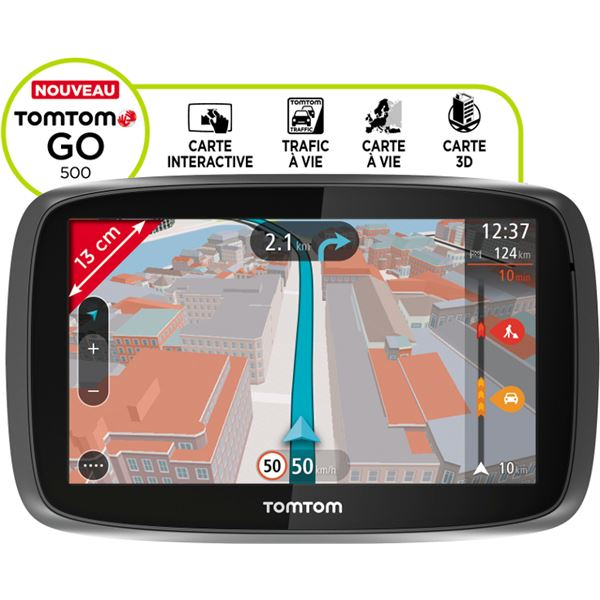 TomTom GO 500 Europe 45 commande vocale