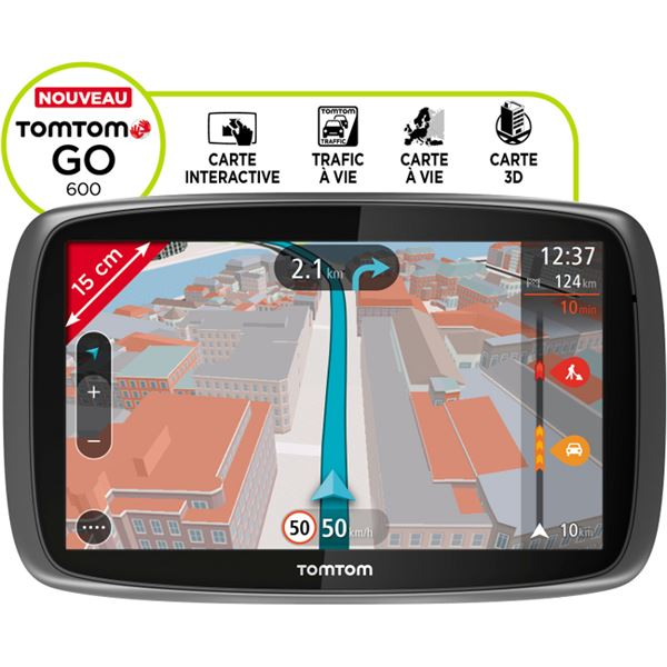 TomTom GO 600 Europe 45 commande vocale