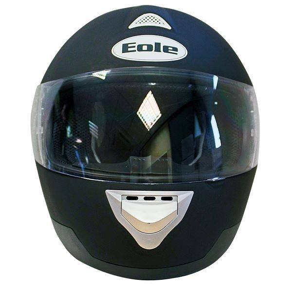 casque moto int gral eole noir mat taille m 57 58 cm feu vert. Black Bedroom Furniture Sets. Home Design Ideas