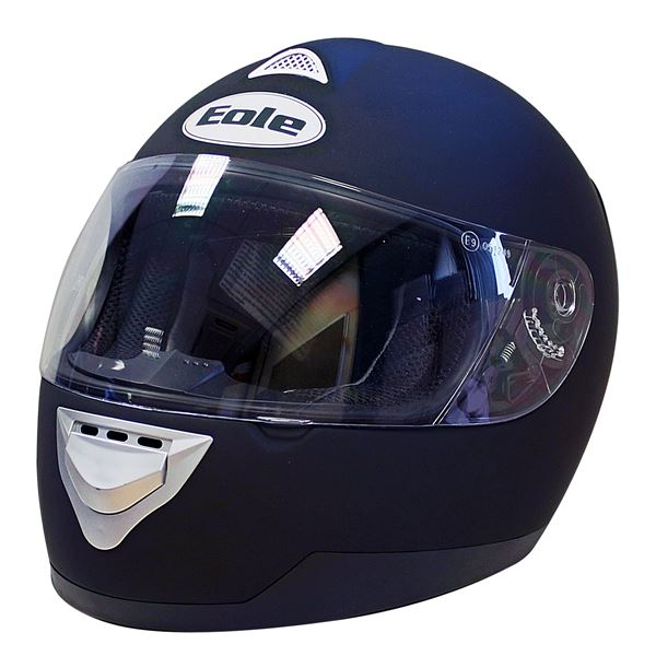 casque moto int gral eole noir mat taille l 59 60 cm feu vert. Black Bedroom Furniture Sets. Home Design Ideas