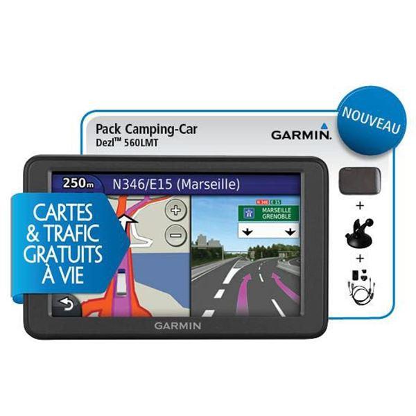 garmin pack gps camping car dezl 560 lmt accessoires feu vert. Black Bedroom Furniture Sets. Home Design Ideas