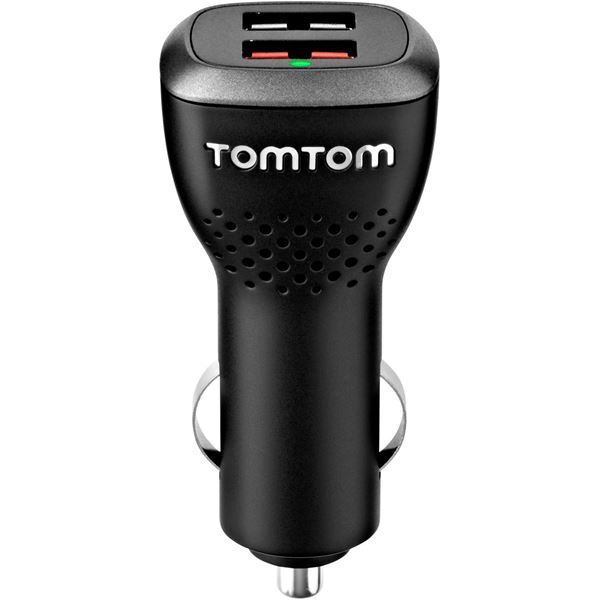 Chargeur allume-cigare double haute vitesse TomTom