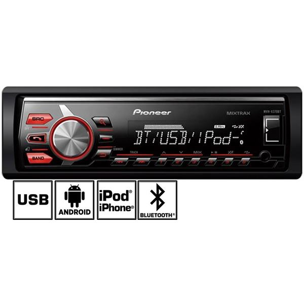 Autoradio Bluetooth Pioneer MVH-X370BT