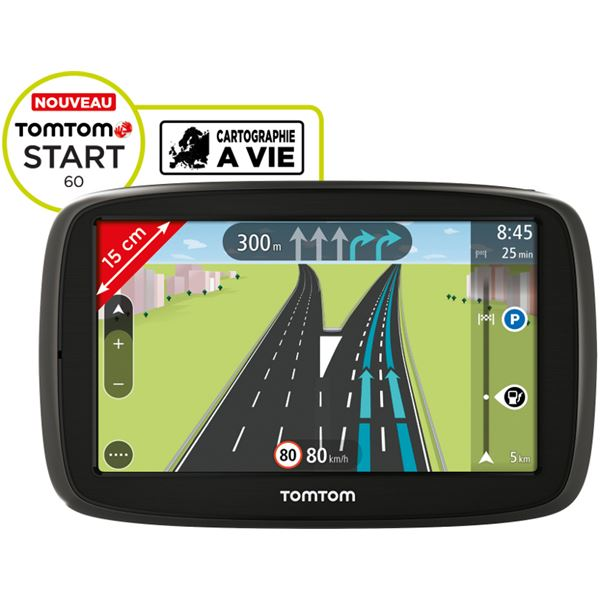 GPS TomTom Start 60 45 Pays