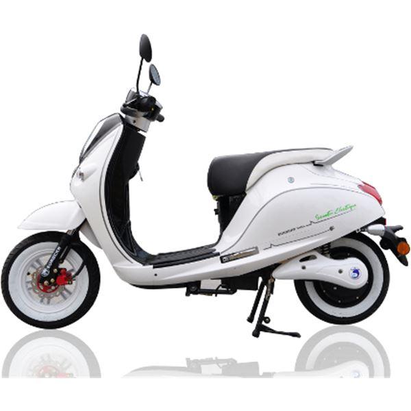 scooter lectrique 1500w cka green noir eurocka feu vert. Black Bedroom Furniture Sets. Home Design Ideas
