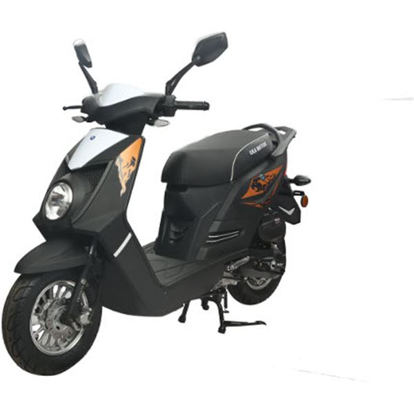 scooter 50 cc 4t q one noir mat thermique eurocka feu vert. Black Bedroom Furniture Sets. Home Design Ideas