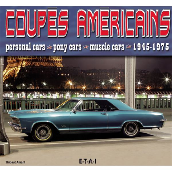 LIVRE COUPES AMERICAINS 1945-1975 (REF 22422)