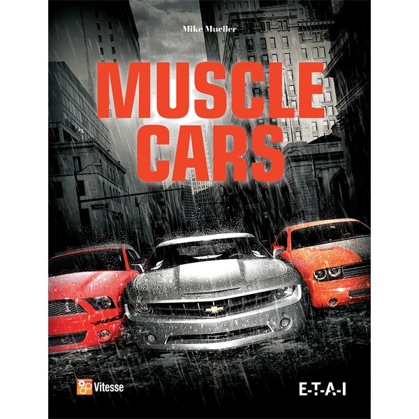 LIVRE MUSCLE CARS (REF 25260)