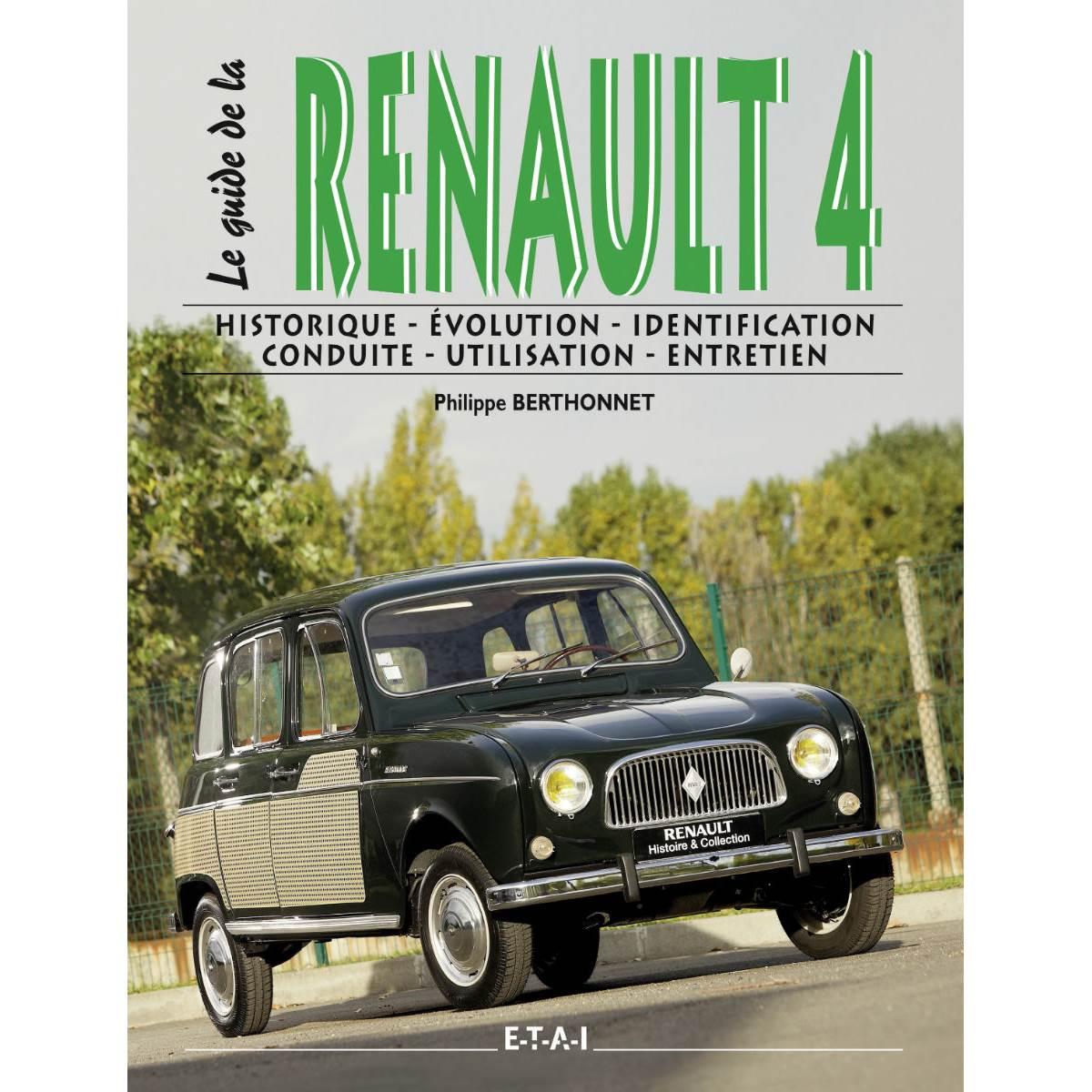 LIVRE LE GUIDE DE LA RENAULT 4L (REF 24143)
