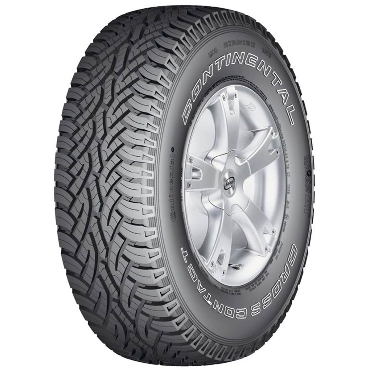 Pneu 4X4 Continental 205/70R15 96T Conticrosscontact At