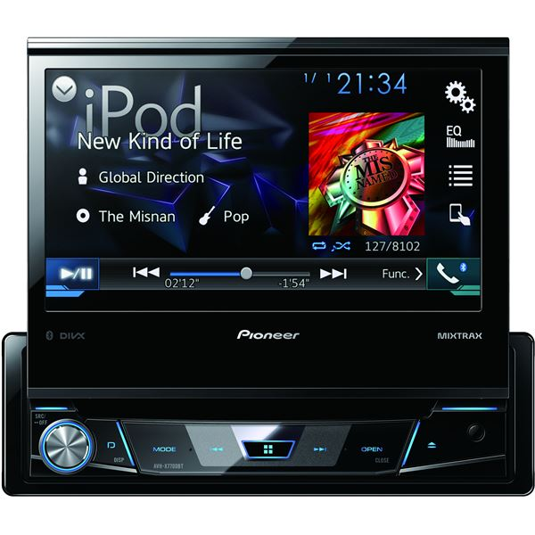 autoradio pioneer avh x7700bt feu vert. Black Bedroom Furniture Sets. Home Design Ideas
