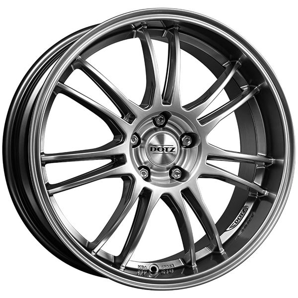 Jantes DOTZ Shift shine High gloss 8x18 5x114,3/48