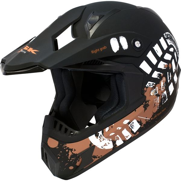 Casque moto cross Dust Taille S KSK