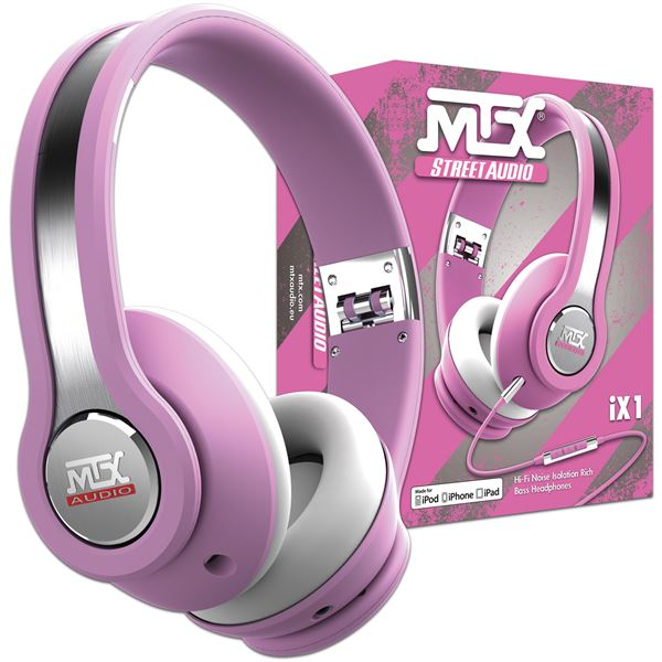 CASQUE AUDIO MTX IX1 ROSE