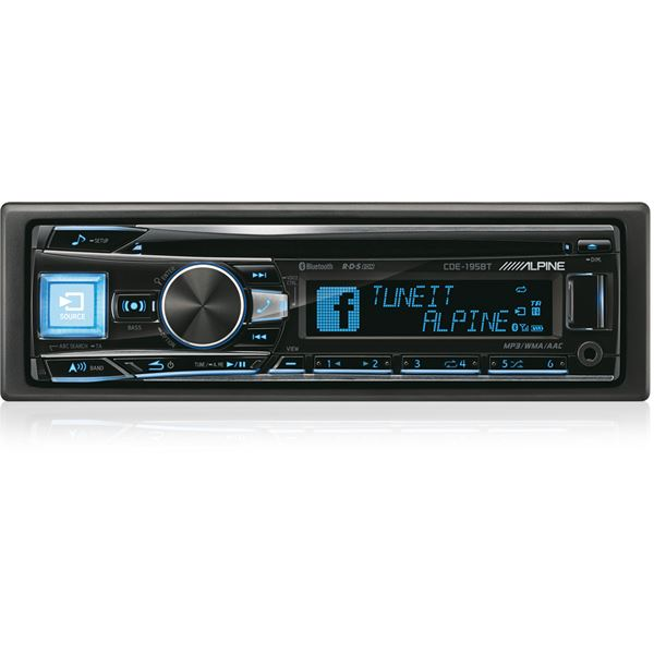AUTORADIO ALPINE CDE-195BT