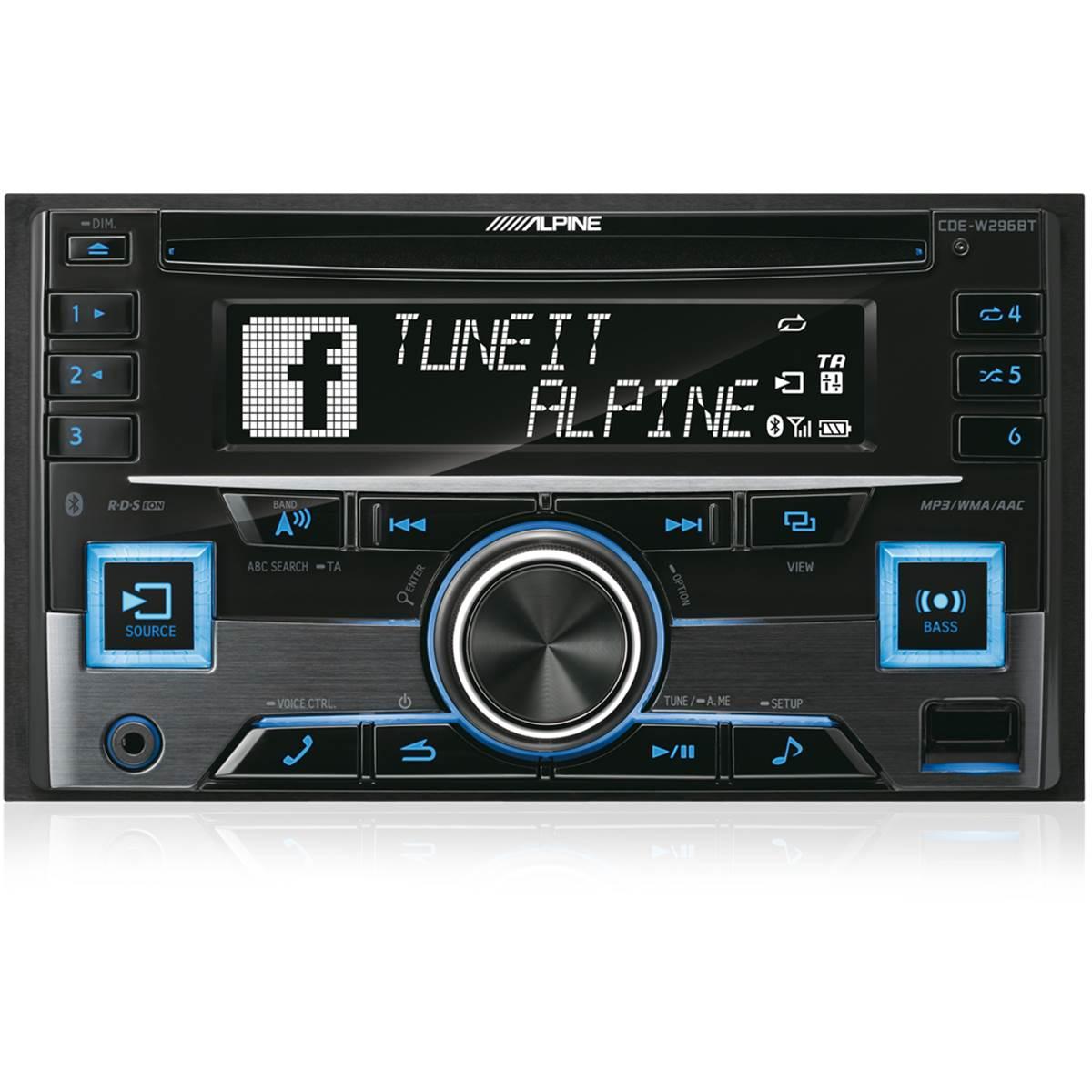 AUTORADIO ALPINE CDE-W296BT