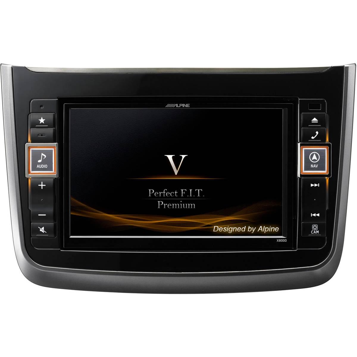 Autoradio GPS Alpine X800D-V