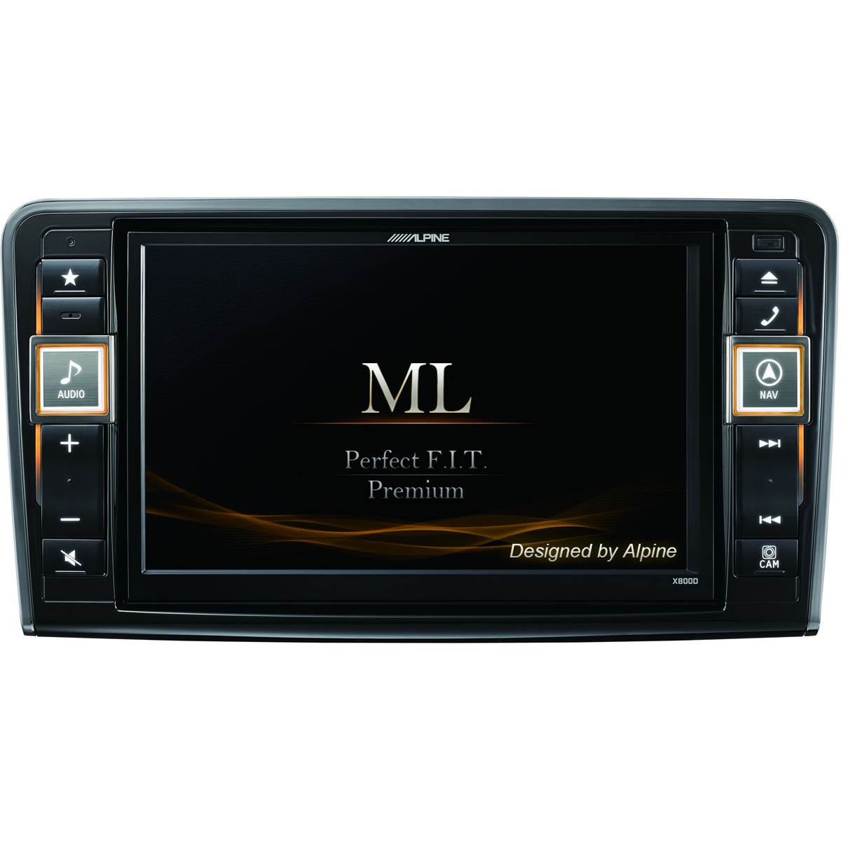 Autoradio GPS Alpine X800D-ML