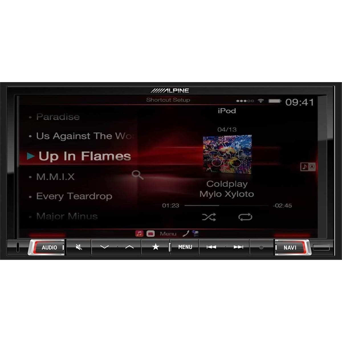 Autoradio GPS Alpine X801D-U