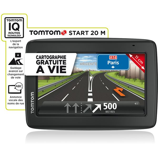 GPS TomTom Start 20M Europe 23 pays + Housse de protection