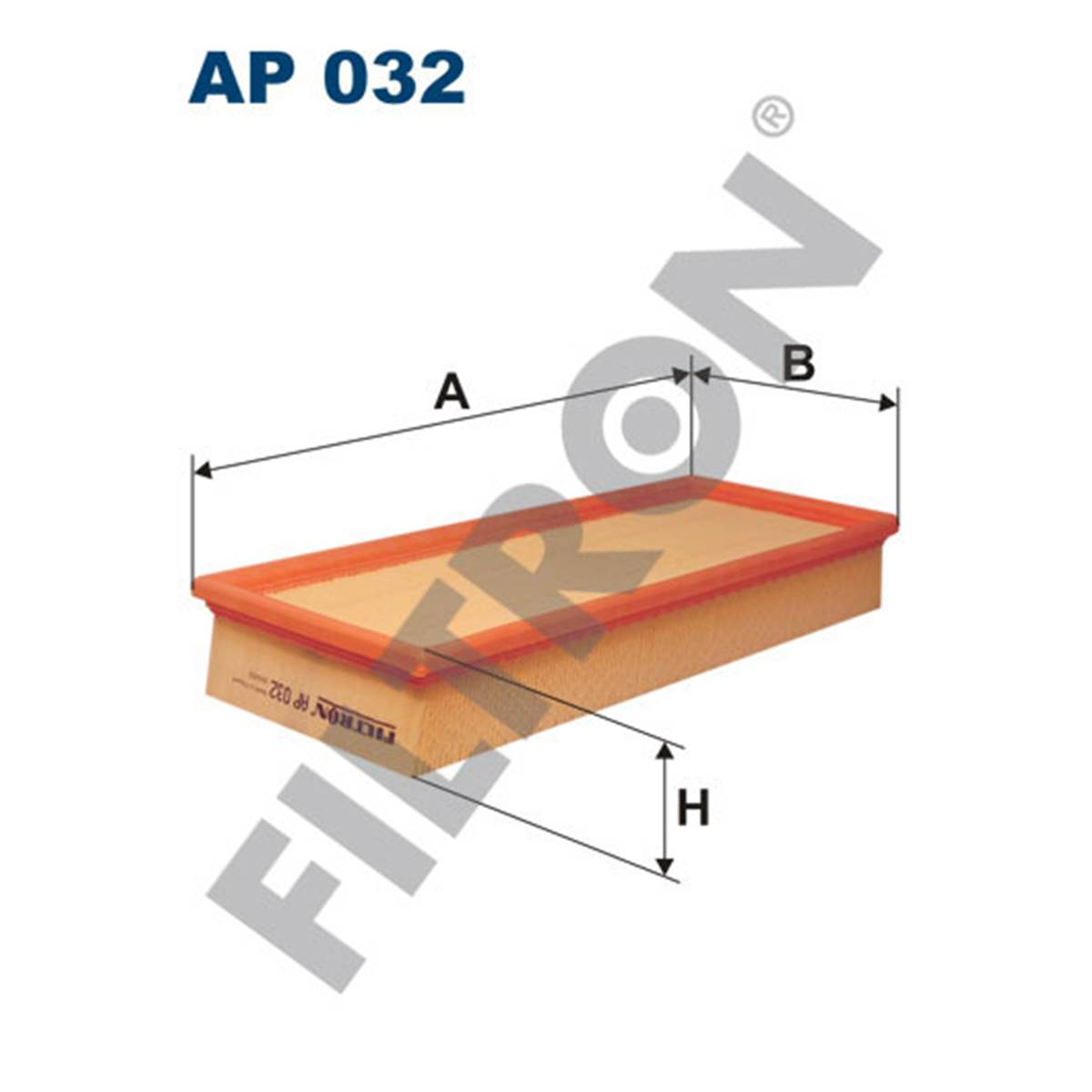 Filtre à air Filtron AP032