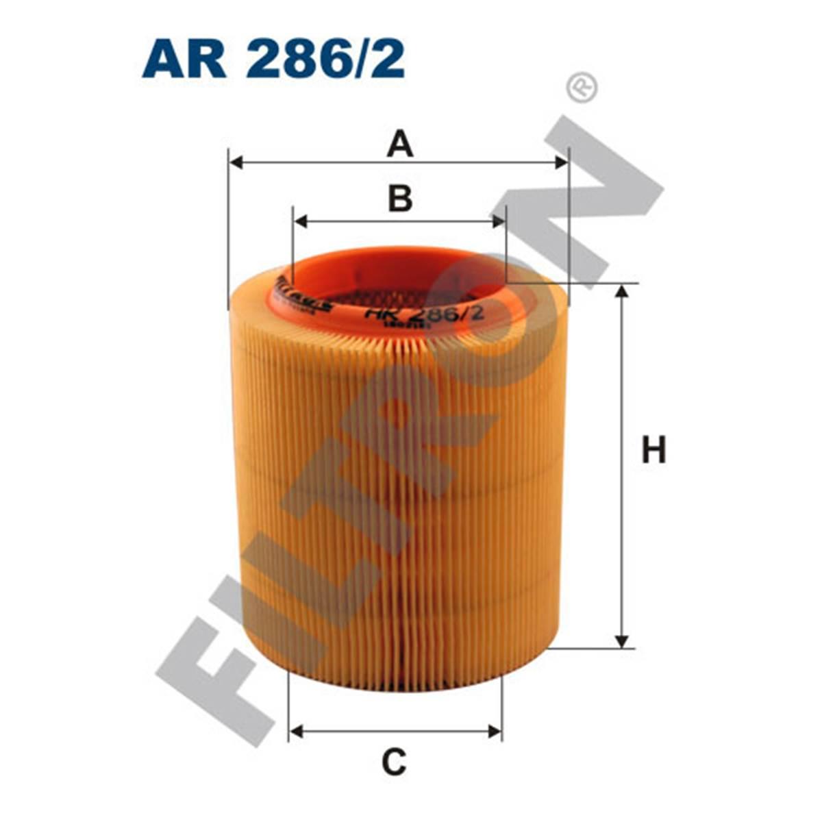 Filtre à air Filtron AR286/2
