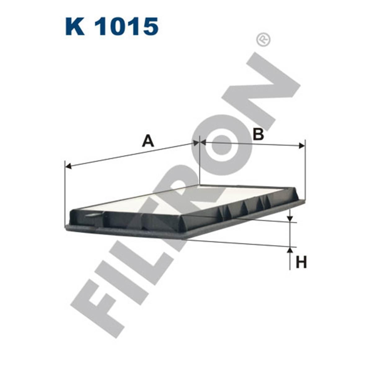 Filtre d'habitacle Filtron K1015