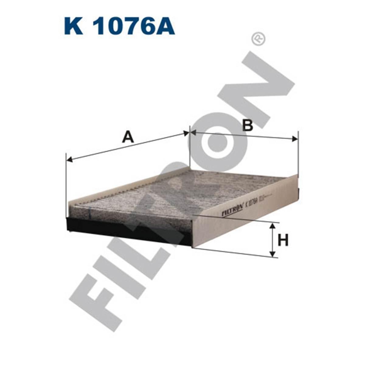 Filtre d'habitacle Filtron K1076A
