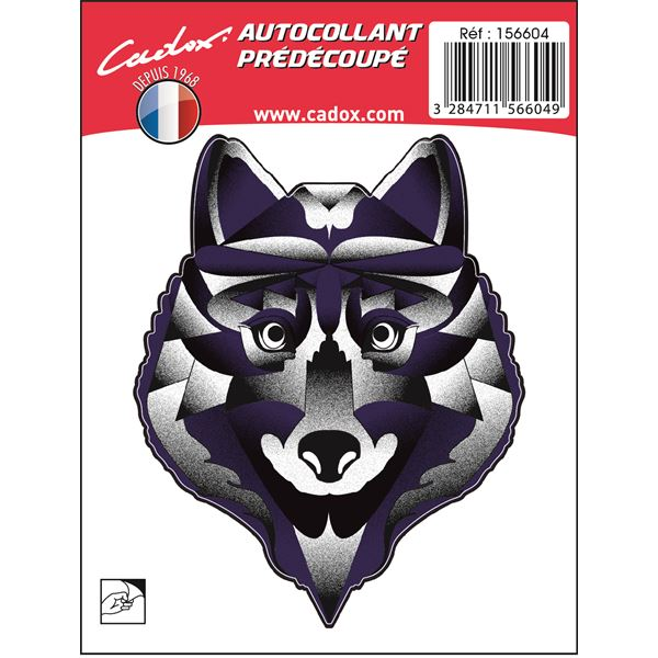 MINISTICKER CARROSSERIE LOUP CADOX