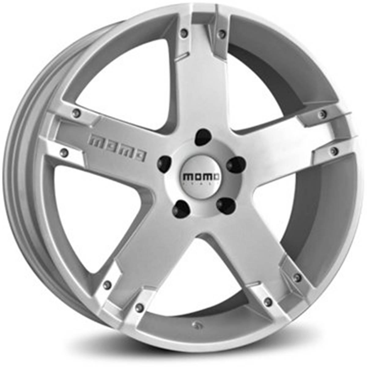 Jante MOMO Storm G2 Silver 8x17 5x130ET45
