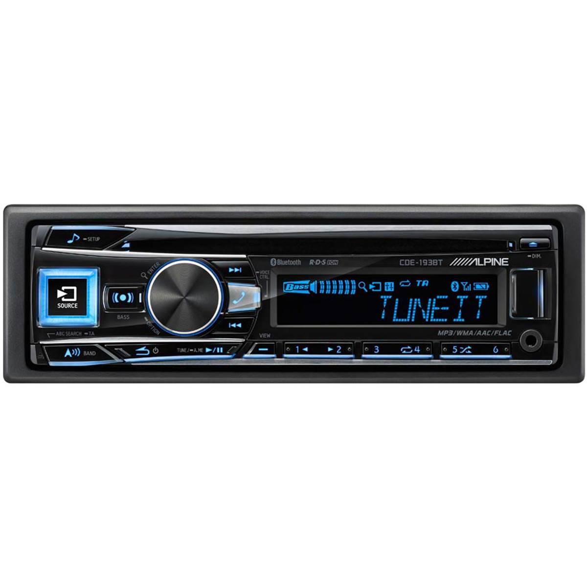Autoradio Bluetooth Alpine CDE-193BT