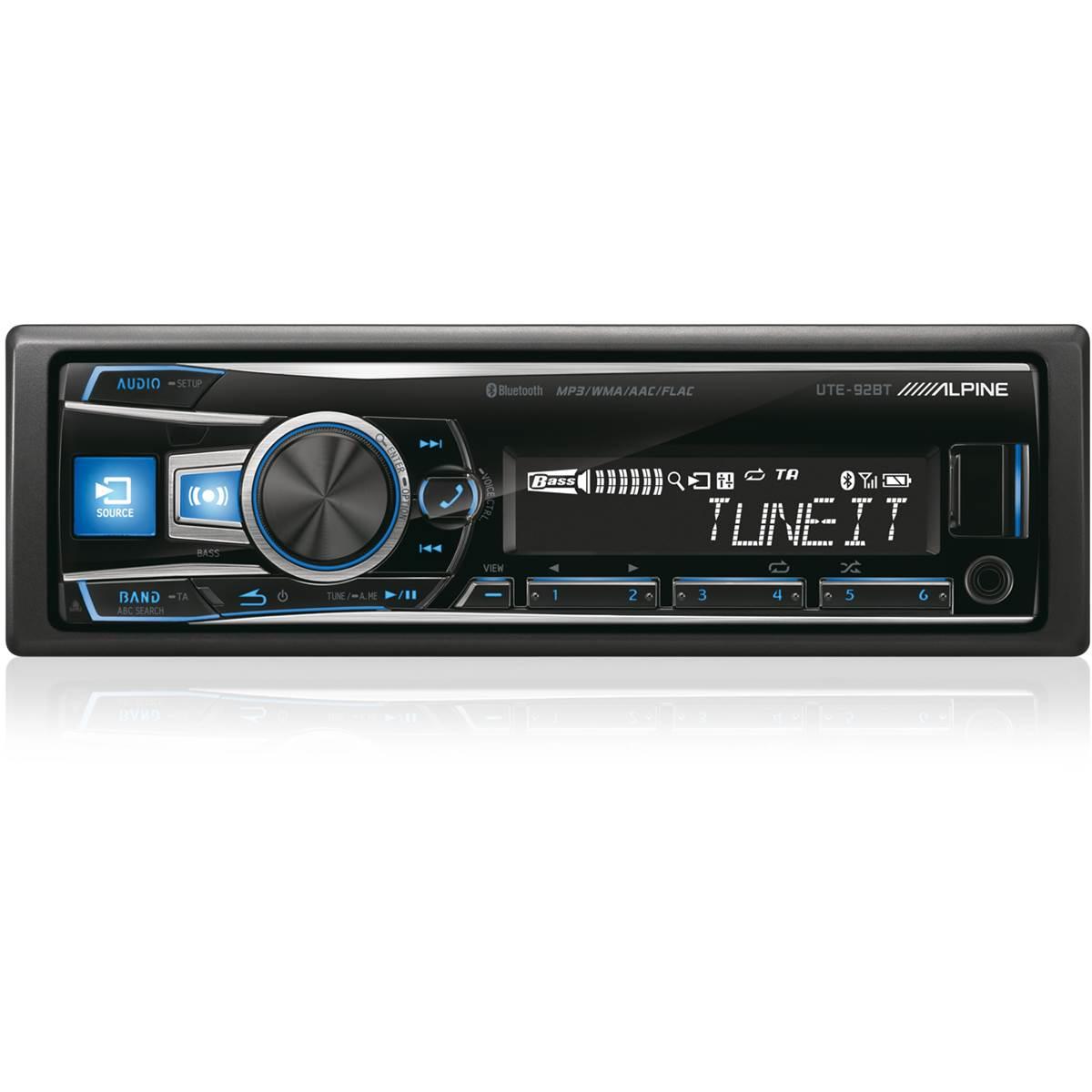 Autoradio Bluetooth Alpine UTE-92BT