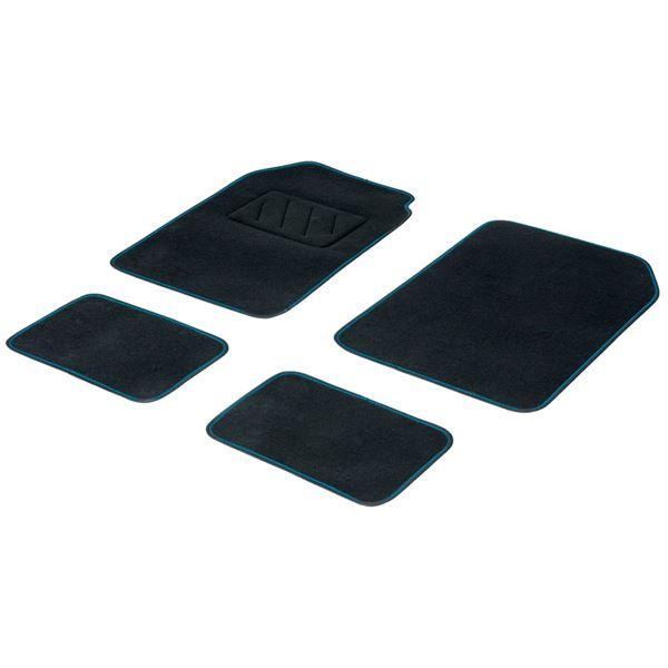 4 tapis moquette universels fluo bleu feu vert. Black Bedroom Furniture Sets. Home Design Ideas