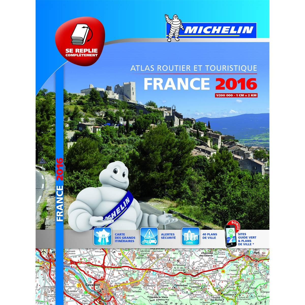 Atlas de France routier Multiflex 2016