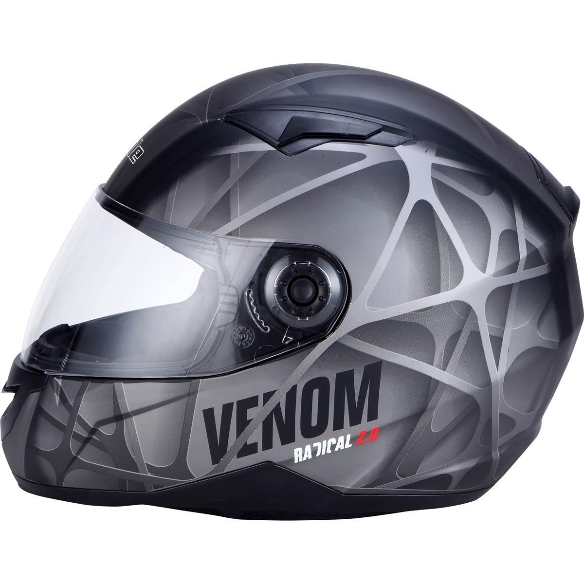 Casque Moto Intégral Ds Venom Taille S Eole Feu Vert