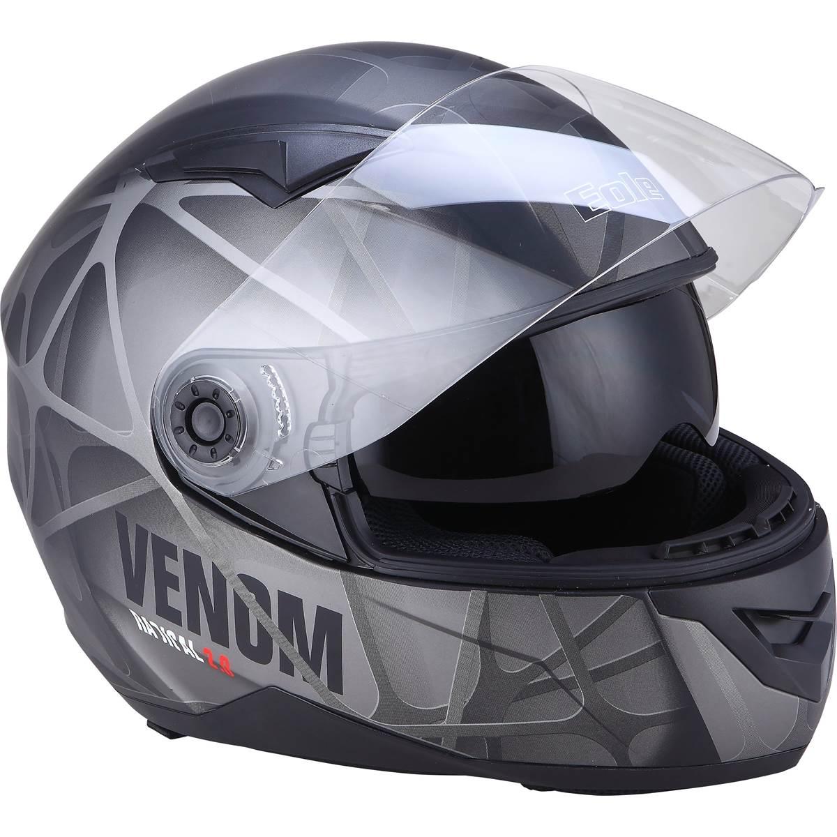Casque Moto Intégral Ds Venom Taille L Eole Feu Vert