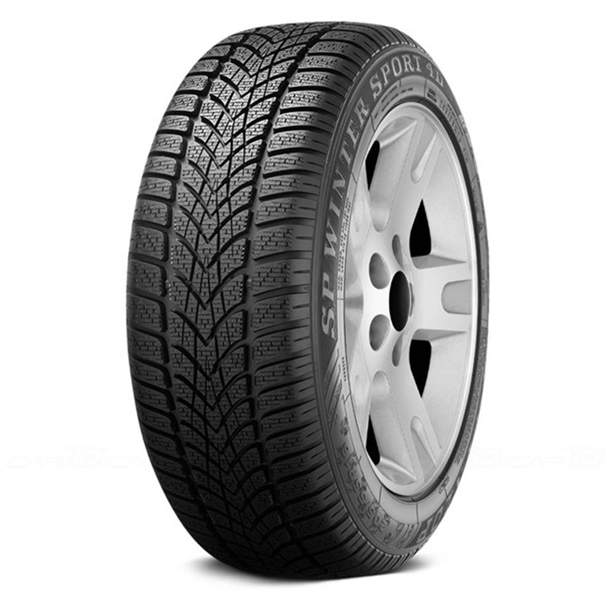 Dunlop Sp Winter Sport 4d Moextended / Fuel Efficiency: C, Wet Grip: C, Ext. Rolling Noise: 71db, Rolling Noise Class: B