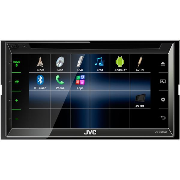 Autoradio Multimédia JVC KW-V320BT