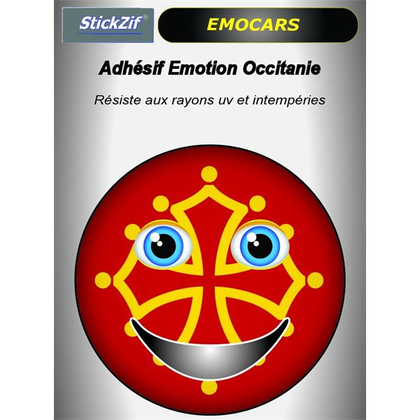 Sticker voiture EMOCARS Occitanie