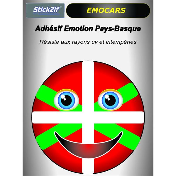 Sticker voiture EMOCARS Pays-Basque