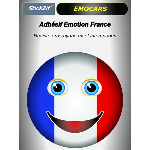 Sticker voiture EMOCARS France